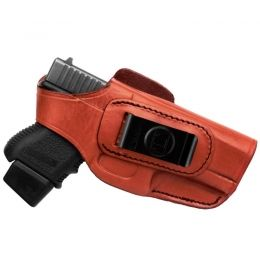 Tagua Gunleather Four in One Holster With Thumb Break, Brown