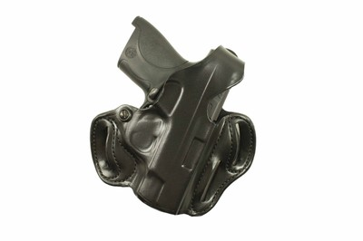 DeSantis Thumb Break Scabbard Holsters - Smith & Wesson Pistols, also fits  Ruger, Dan Wesson 15, Colt, Taurus, Walther, Charter Arms - Left